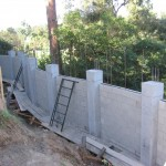 Retaining Wall Installation 10