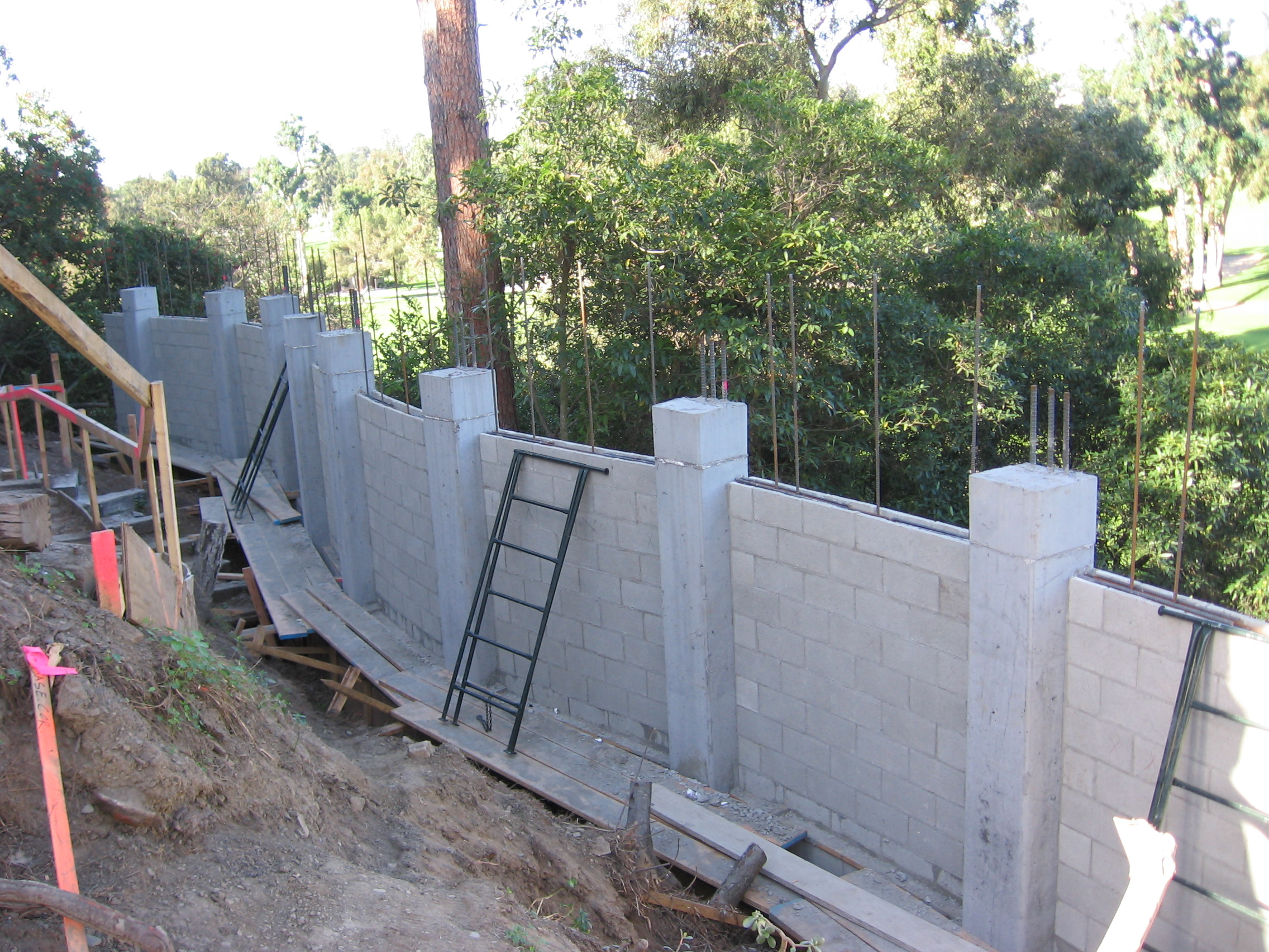 Foundations and structural concrete mike pearson for Poured wall foundation