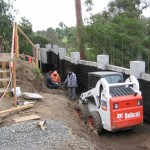Retaining Wall Installation 13