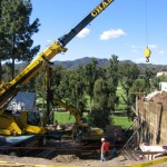 Retaining Wall Installation 12
