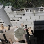 Retaining Wall Installation 15